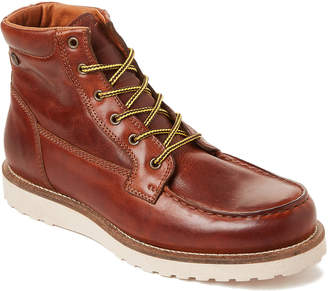 Pajar Canada Cognac Logger Waterproof Leather Boots
