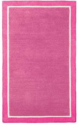 Pottery Barn Teen Girls Custom Capel Rug, Pool/Royal Navy, 3X5
