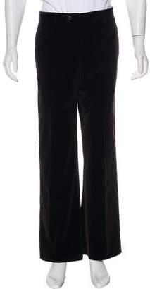 Hermes Velvet Flat Front Pants