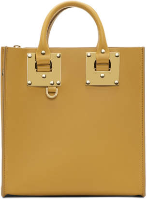 Sophie Hulme Yellow Square Albion Tote