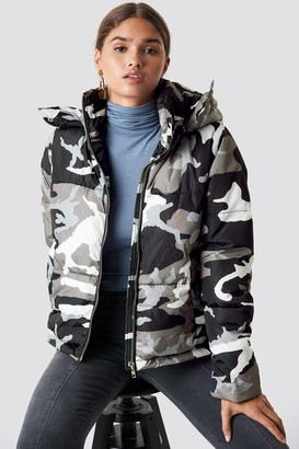 Na Kd Urban Camo Padded Jacket