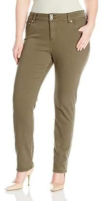 Lucky Brand Women's Plus Size Emma Straight Jean