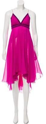 Matthew Williamson Chiffon Midi Dress