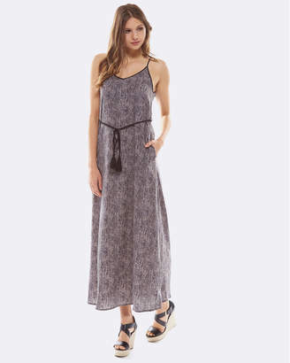 Deshabille Serpent Dress Charcoal