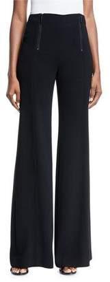Nanette Lepore Scenic Sailor Double-Zip Pants