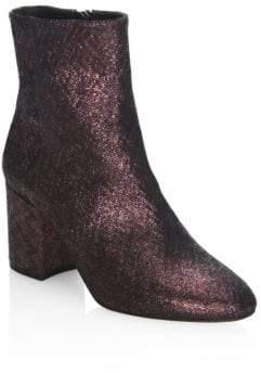 LK Bennett Jourdan Metallic Leather Ankle Boots