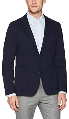 Perry Ellis Men's Slim Fit Stretch Texture Knit Jacket