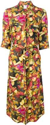 Ultràchic fruit print shirt dress