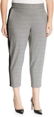 33a552deab65b Rachel Roy Glen Plaid Slim Cropped Pants