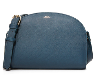 A.P.C. Half Moon Bag $455 thestylecure.com