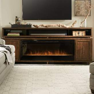 """Hooker Furniture BigSur TV Stand for TVs up to 78"""" with Fireplace"""