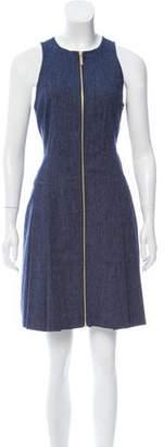 MICHAEL Michael Kors Sleeveless Chambray Mini Dress w/ Tags