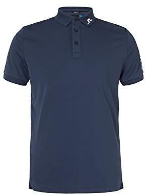 J. Lindeberg Men's Classic Tour Tech Jersey Polo Shirt