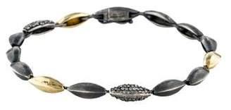 Alexis Bittar Diamond Marquislink Tennis Bracelet