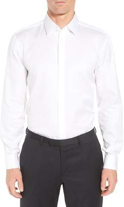 BOSS Myron Sharp Fit Tuxedo Shirt