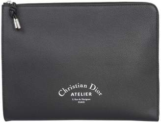 Christian Dior Leather Clutch