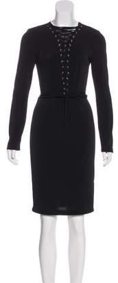 Rachel Zoe Long Sleeve Knee-Length Dress