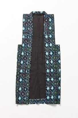 Urban Renewal Vintage Turquoise Geometric Vest