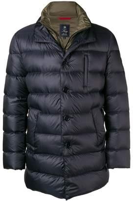 Fay layered padded jacket