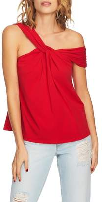 1 STATE 1.STATE Twist Front One-Shoulder Top