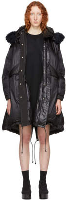 Sacai Black Down Coat