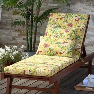 Waverly Lexie Indoor/Outdoor Chaise Lounge Cushion