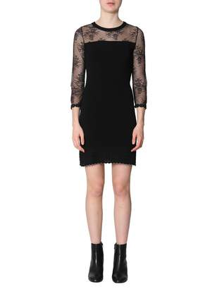 Moschino Dress With Lace Insert