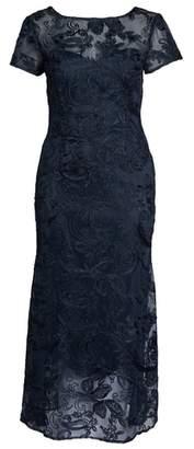 JS Collections Soutache Lace Gown
