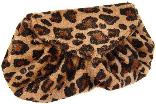 Lauren Merkin Diana Leopard-Print Clutch