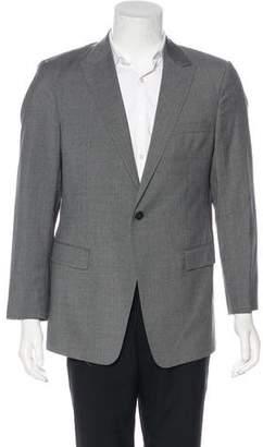 Emporio Armani Wool One-Button Blazer