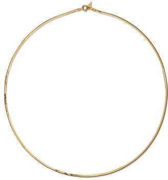 Loren Stewart - Herringbone 10-karat Gold Necklace
