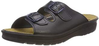Romika Village 305 G, Women's Low-Top Slippers, Black (schwarz 100), (40 EU)