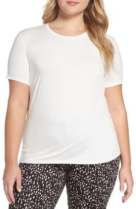 Plus Size Women's Persona By Marina Rinaldi Vaniglia Tee $70 thestylecure.com