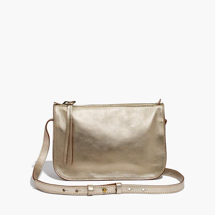 The Simple Crossbody Bag in Metallic