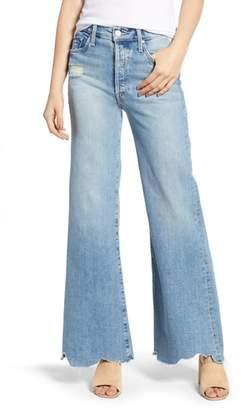 Mother Tomcat Roller Chew Hem Jeans