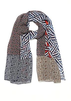 New Boomerang Silk Scarf $178 thestylecure.com