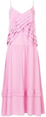 No.21 ruffle trim dress