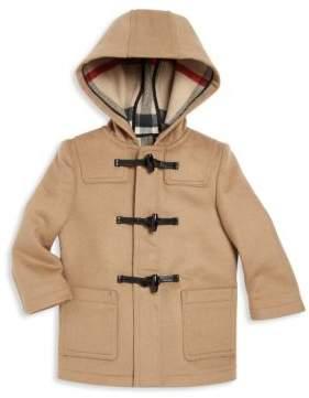 Burberry Baby's& Toddler Boy's Brogan Wool Duffel Coat