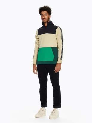 Scotch & Soda Half-Zip Track Sweatshirt