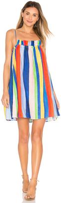 Mara Hoffman Gathered Mini Dress $325 thestylecure.com