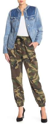 Know One Cares Camo Jogger Pants