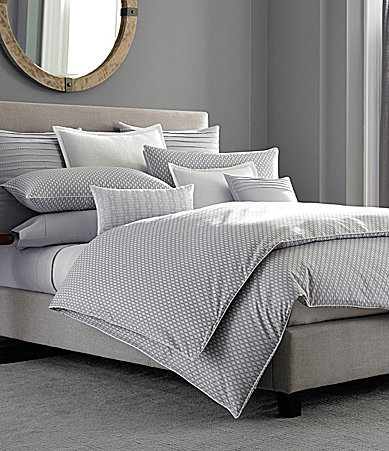Barbara BarryBarbara Barry Ascot Ogee Lattice Percale Comforter Mini Set