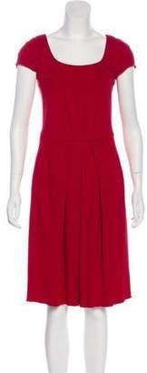Armani Collezioni Short Sleeve Midi Dress