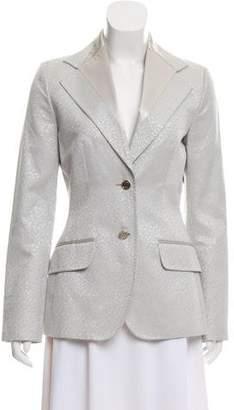 Dolce & Gabbana Metallic Jacquard Blazer w/ Tags