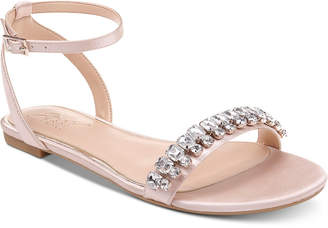 Badgley Mischka Dalinda Flat Evening Sandals