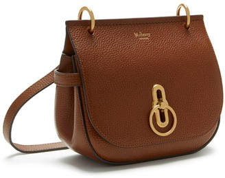 bc2bbcf749 Mulberry Small Amberley Satchel Oak Natural Grain Leather
