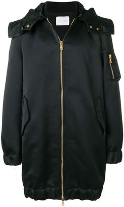 Pierre Balmain hooded parka