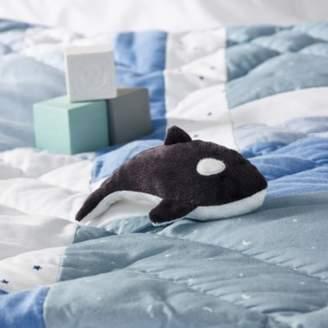 The White Company Waldo Whale Mini Toy, Blue, One Size