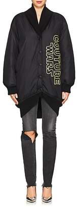 "Moschino Women's ""Couture Wars"" Tech-Taffeta Bomber Jacket"