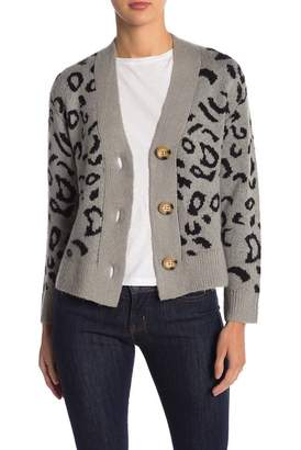 Abound Animal Print Cardigan